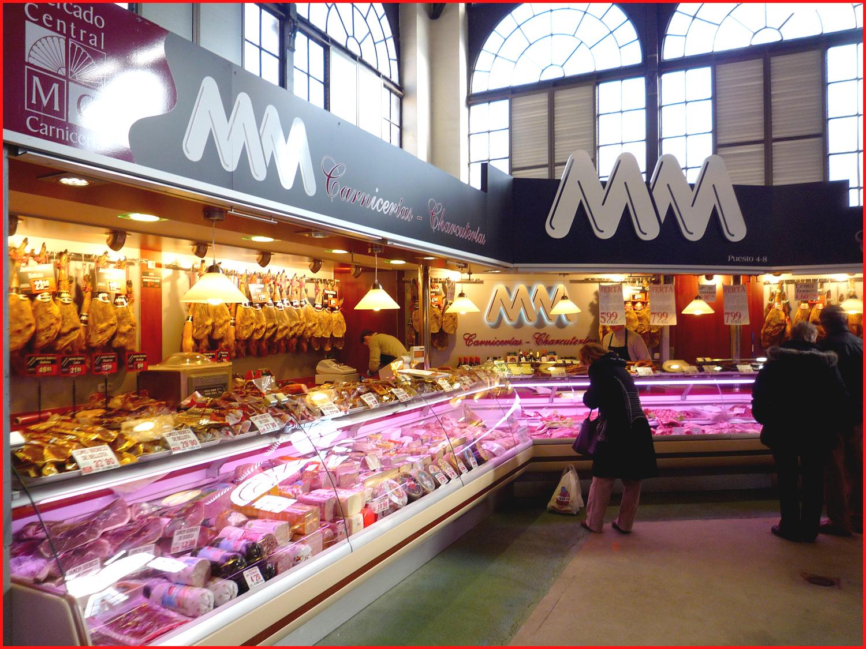 Puesto mercado vaquero decoracion - Decoracion carnicerias ...