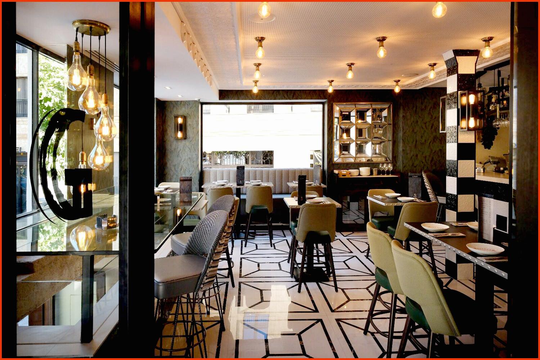 Restaurante moderno vaquero decoracion for Cocinas de restaurantes modernos